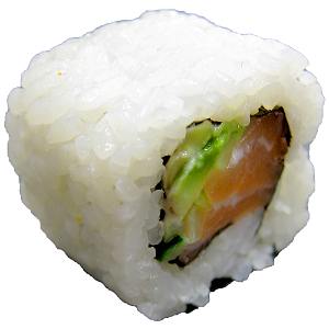 Foto Salmon Inside Out Roll 8 stuks