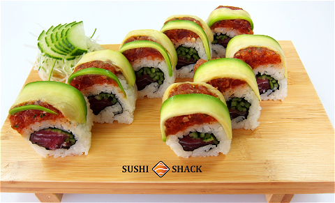 Foto Maguro Royal Roll Avocado 8st.