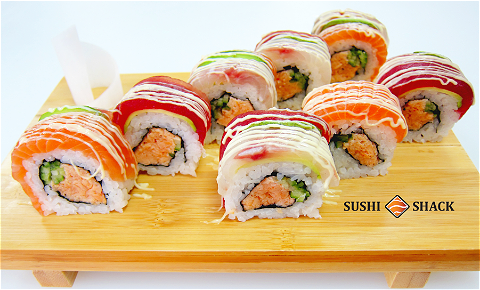 Foto Rainbow Roll 8 st.