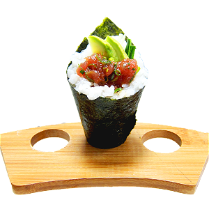 Foto Temaki spicy tuna